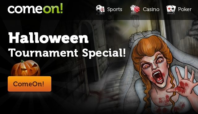 halloween tournament come on casino